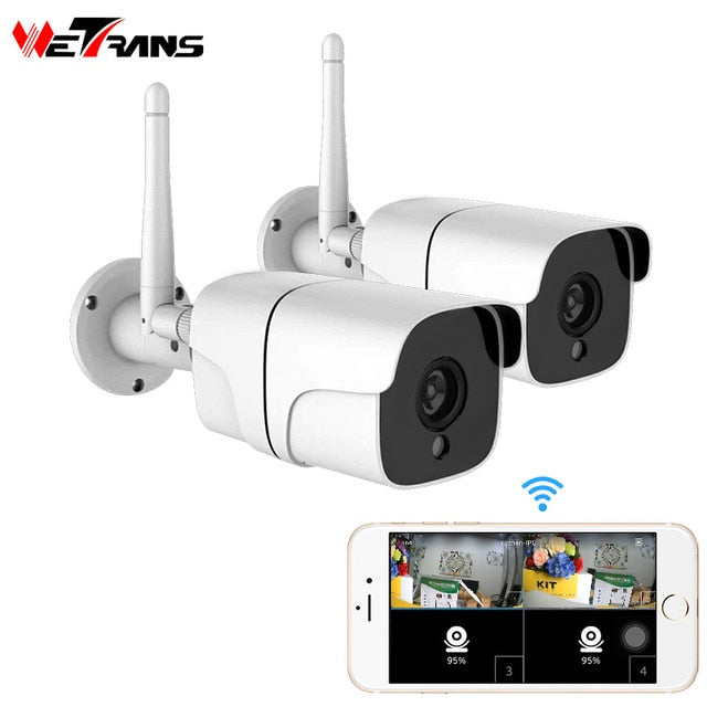 Home Security Wireless Camera CCTV System Outdoor 1080P HD 2CH Audio