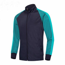 Load image into Gallery viewer, 2019 Running Jacket Men Breathable Coat Outdoor Sports Hiking Soccer Training Jersey Jacket Training Gym Football Zipper Jackets