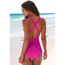 Load image into Gallery viewer, Women's Swimming Suit 2019 Summer One-Piece Swimsuit Women Ruffle