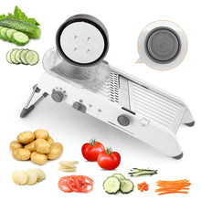 Load image into Gallery viewer, Time Saving Mandolin Vegetable Cutter Shredders Stainless Steel Slicer Onion Potato Cutter Carrot Grater