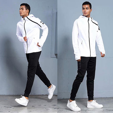 New Sport Suit Winter Men Soccer Set Running Hoodie Jackets Long Sleeve Tracksuit Men Soccer Jersey Training Suit Football Suits