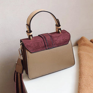 Vintage Women Leather Famous Brand Crossbody Bags For Women Luxury Designer Ladies Retro Handbag Purse Female Shoulder Bags
