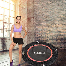 Load image into Gallery viewer, Rebounder Fitness Workout Folding Trampoline Adjustable Handrail
