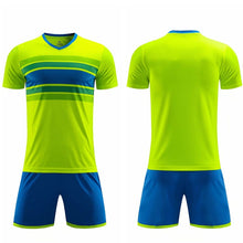 Load image into Gallery viewer, Survetement Football 2019 Soccer Set Kids Men Sports Kits Breathable Tennis Jerseys Set Blank Men Team Soccer Jerseys Sets Print