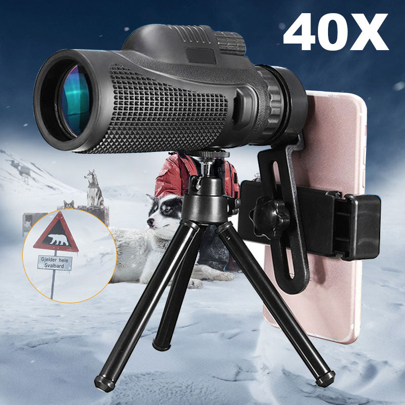 40X60 Universal Zoom Phone Camera Lens Phone Telescope Mobile Phone Phones Accessories Multi-Purpose Clamp Stands