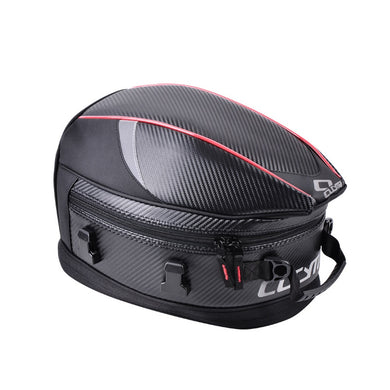 Motorcycle Back Seat Bags Backpack Waterproof Luggage Leather Helmet Bag Tank Tail Saddle Leg Rear Trunk for Top Case Motorbike