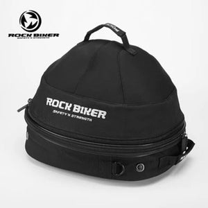 Rock Biker Motorcycle Helmet Bags Breathable Cooling Fan Top Case Motorbike Multi-functional Touring Luggage Bags Large Capacity