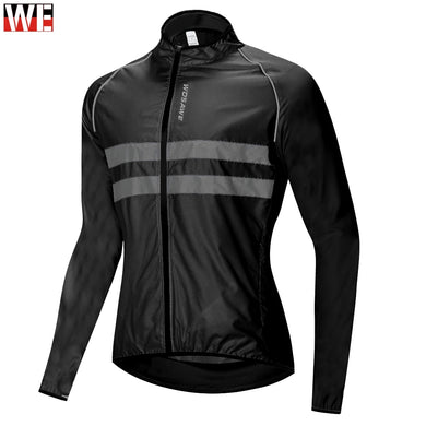 WOSAWE High visibility Windbreaker Motorcycle Jacket Wind Coat Men Women Waterproof Safety Motocross Mountain Bike Clothing
