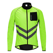 Load image into Gallery viewer, WOSAWE High visibility Windbreaker Motorcycle Jacket Wind Coat Men Women Waterproof Safety Motocross Mountain Bike Clothing