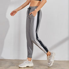 Load image into Gallery viewer, Women's Running Sports Trousers Vansydical 2019 Fitness Jogger Pants Loose Basketball Training Trousers Spliced Colors