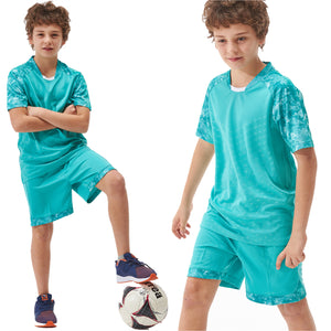 Soccer Outfit Kids 2018 Soccer Jersey Set Youth Children Survetement Training Football Jerseys Kits Boys Child Suit