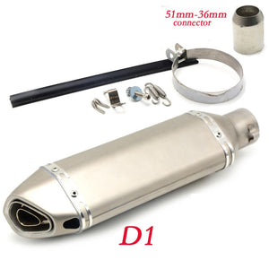 35-51MM Motorcycle Exhaust Pipe Muffler Modified Exhaust Pipefor BMW k1600gt k1600gtl r1200r k1300s k1300r k1300gt r1200gs