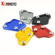 Load image into Gallery viewer, KEMiMOTO For BMW K1600GT 1600GTL Side Stand Plate Pad Motorcycle Kickstand K1600 GT 1600 GTL K 1600GT 2011 2012 2013 2014 2015