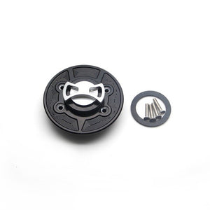 Motorcycle Aluminum Keyless Fuel Tank Gas Cap Cover For BMW K1600GT K1600GTL R1200GS R1200R R1200S