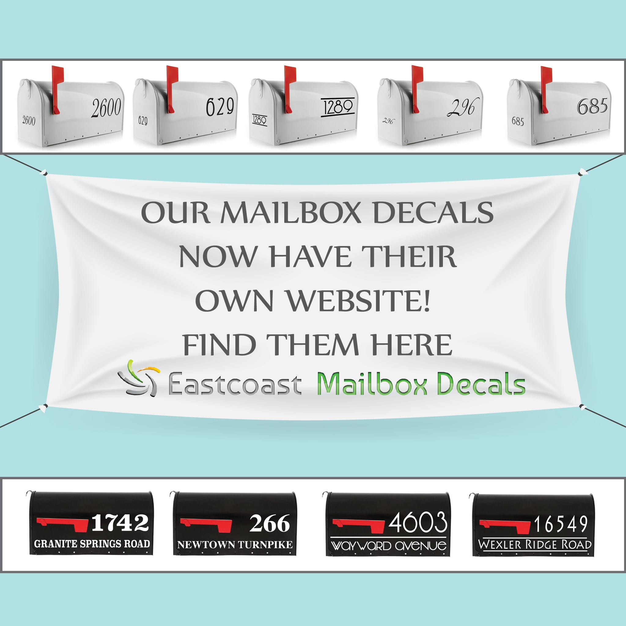 Eastcoast Mailbox Decals