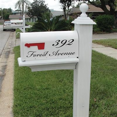 Mailbox Decal - The Charleston (1726597660718)