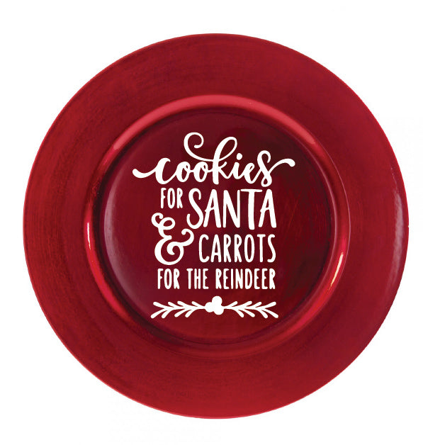 Cookies For Santa Carrots for Reindeer Decal