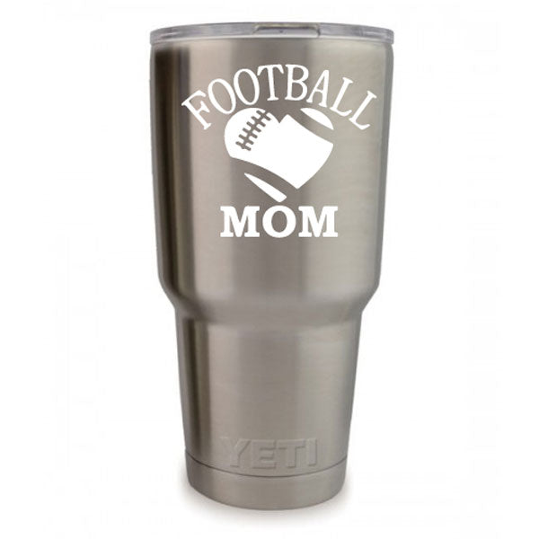 Football Mom Vinyl Decal