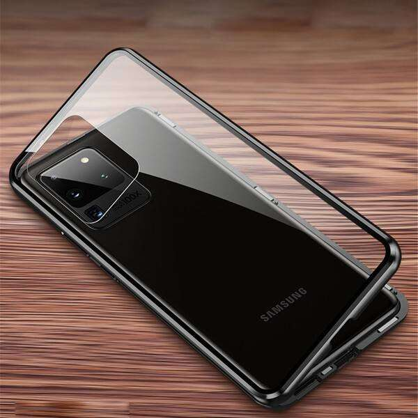 Coque magnétique Samsung Galaxy modèle S21-S21-Ultra-S20-S10-S9-S8-Note20-Note10-Note9-Note8