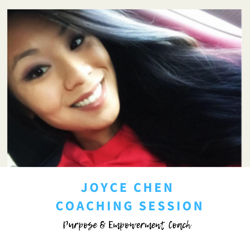 Joyce Chen Coaching Session