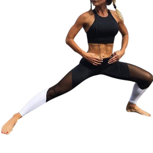 Mesh High Waist Fitness Legging & Athleisure Wear