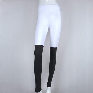 Mesh Multi Color Splice Fitness Pant
