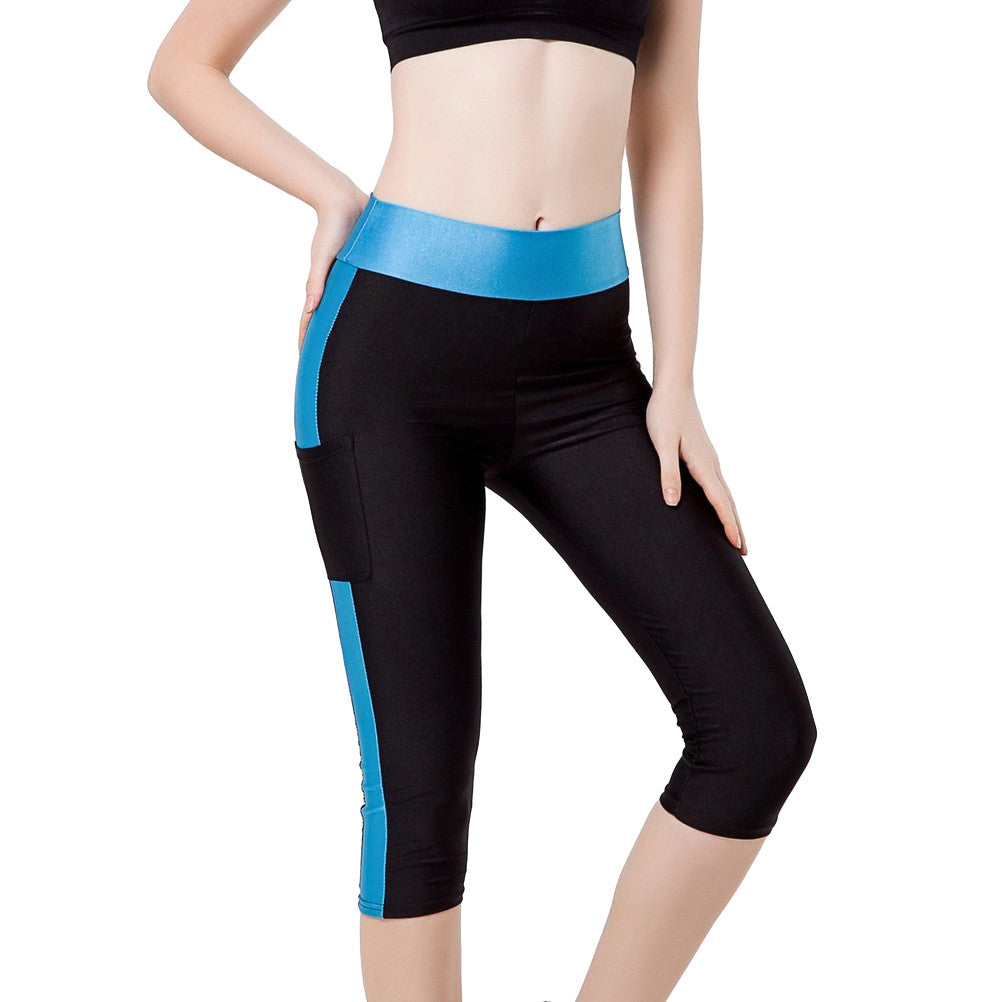 Slim Capri Yoga Pant with Pockets