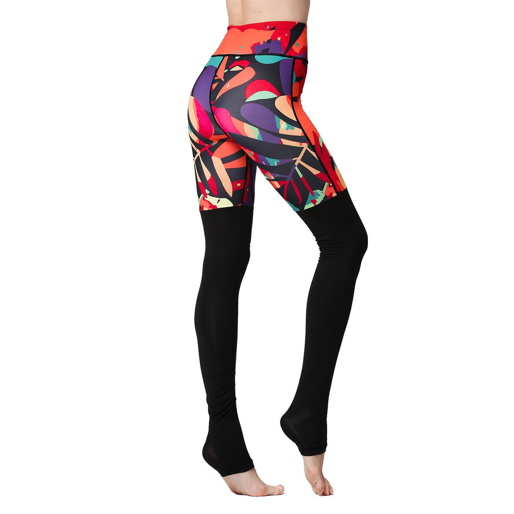 Printwork Duo Color Quick Dry Pant