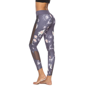 Colorful Printed Yoga Pants