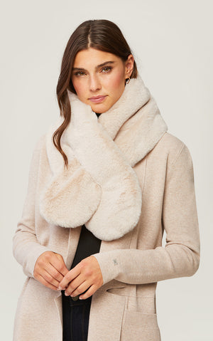 Taliana Faux Fur Scarf