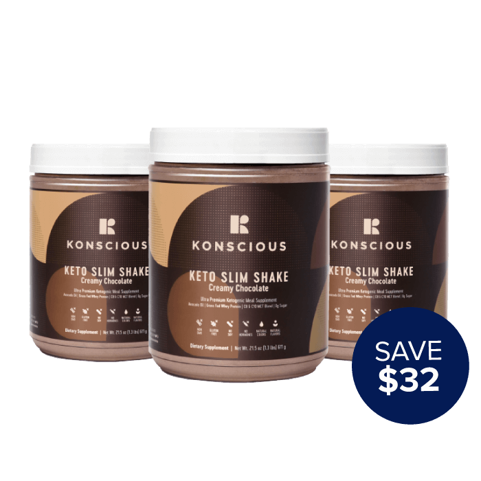 Keto Shake Three Pack