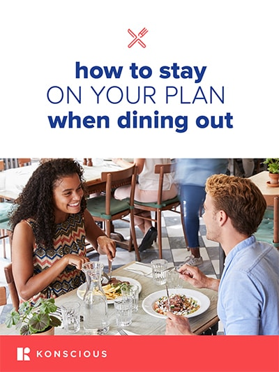 How To Stay On Your Plan When Dining Out eBook