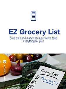 EZ Grocery List eBook