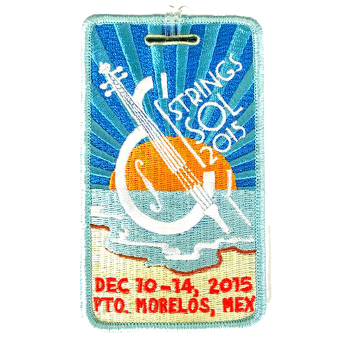 Strings & Sol Luggage Tag - 2015 (Includes Shipping)