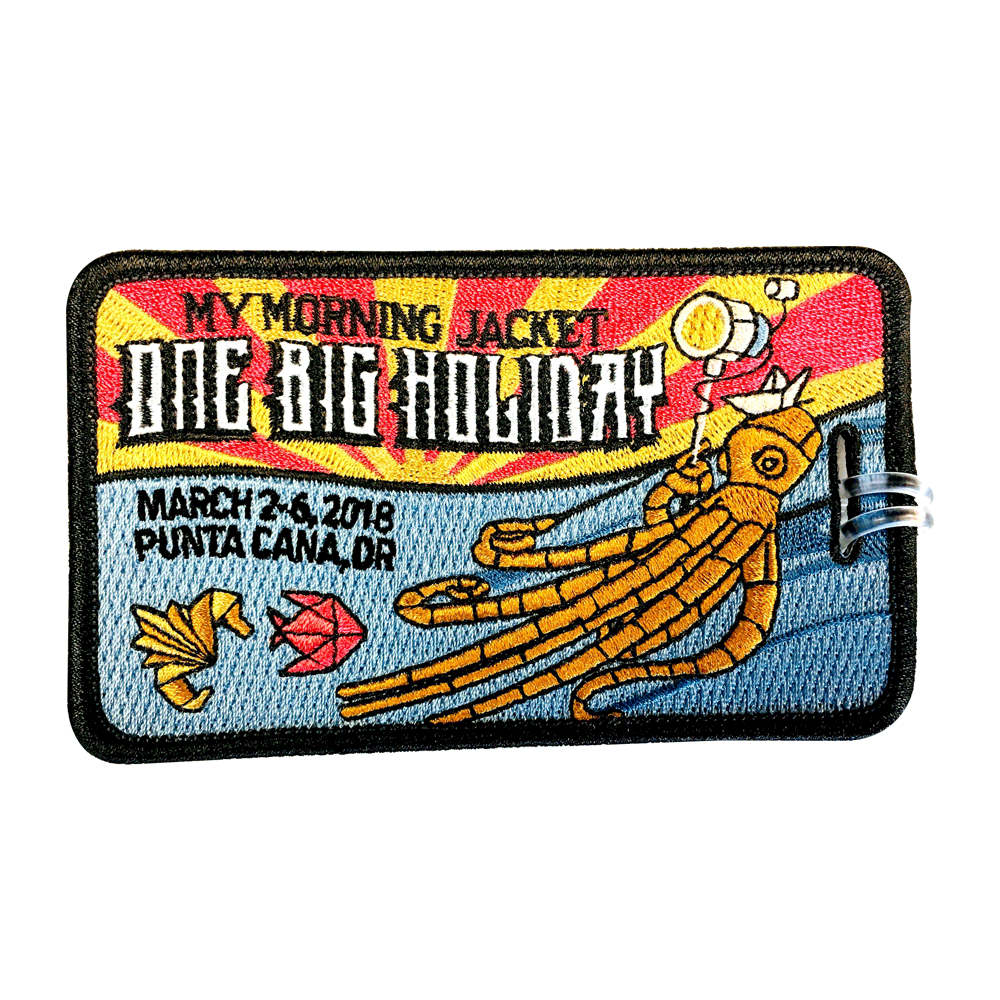 One Big Holiday Luggage Tag - 2018 (Includes Shipping)