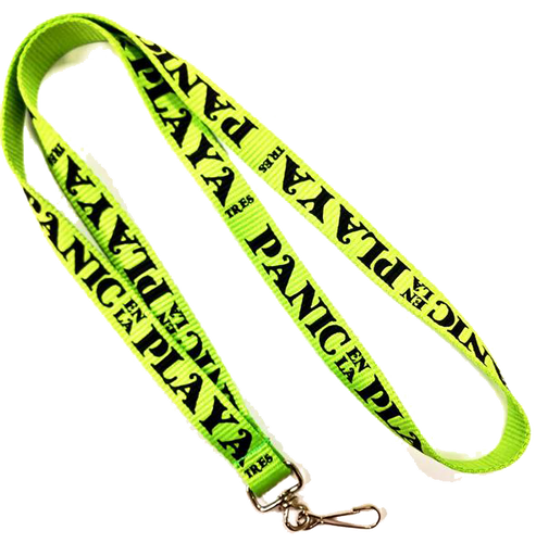 Panic en La Playa Tres Lanyard (Includes Shipping)