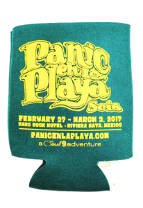 Panic en La Playa Seis Coozie - 2017 (Includes Shipping)