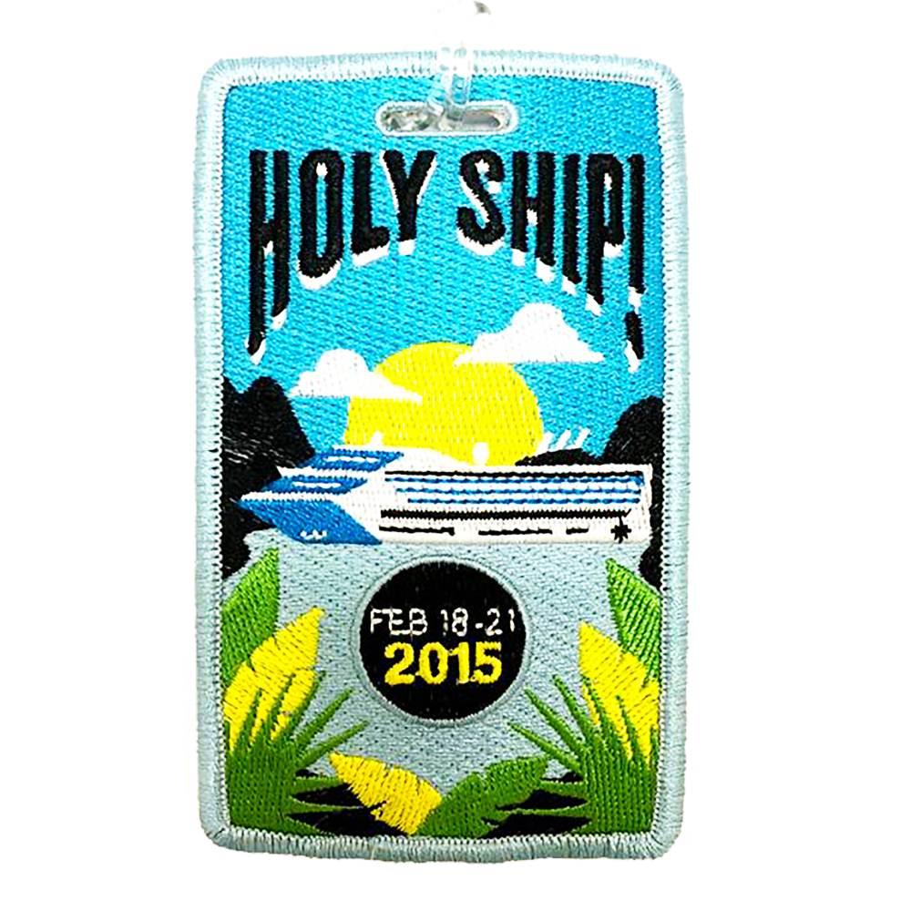 Holy Ship! Luggage Tag - Feb 2015 (Includes Shipping)