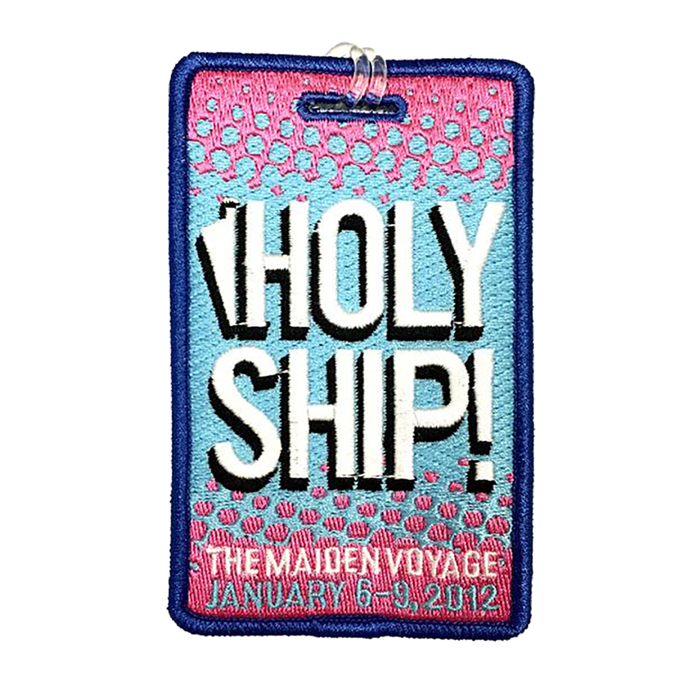 Holy Ship! Luggage Tag - 2012 (Includes Shipping)
