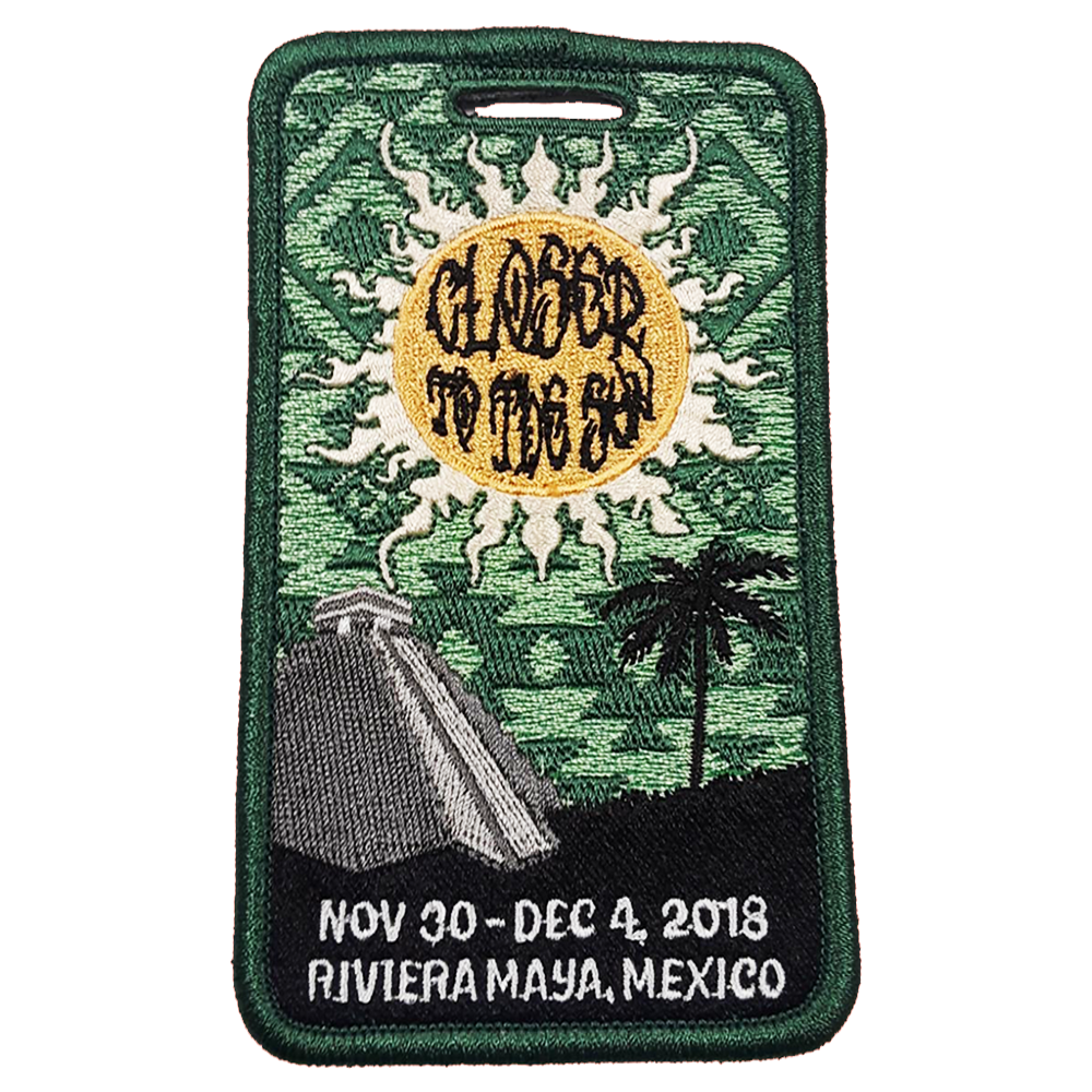 Closer to the Sun Luggage Tag - 2018 (Includes Shipping)