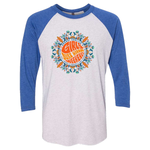 Girls Just Wanna Weekend 2 Raglan Shirt