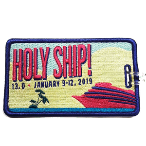 Holy Ship! 13.0 Luggage Tag (Includes Shipping)