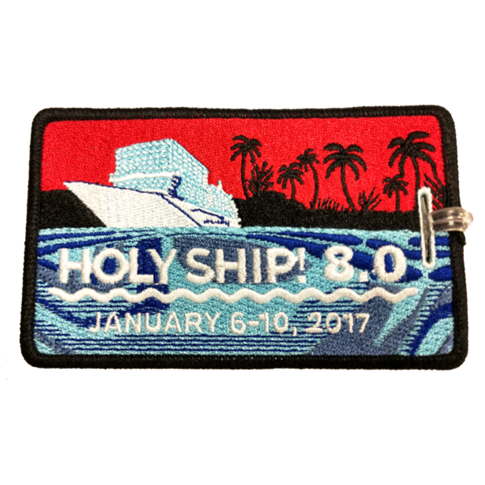 Holy Ship! 8.0 Luggage Tag (Includes Shipping)