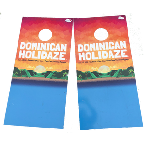 2016 Dominican Holidaze Cornhole Boards (Includes Shipping)*