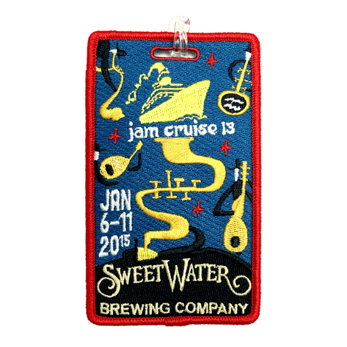 Jam Cruise 13 Luggage Tag (Includes Shipping)