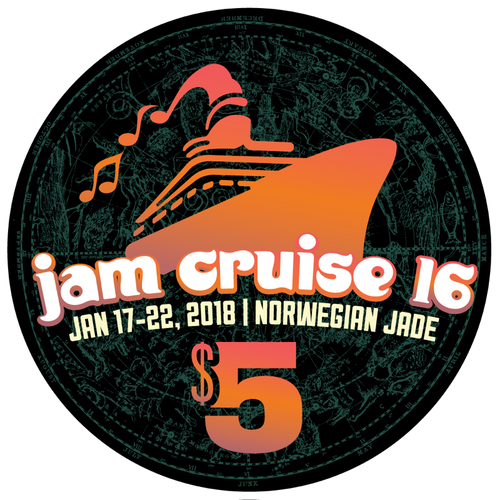 Jam Cruise 16 Casino Chip (Includes Shipping)