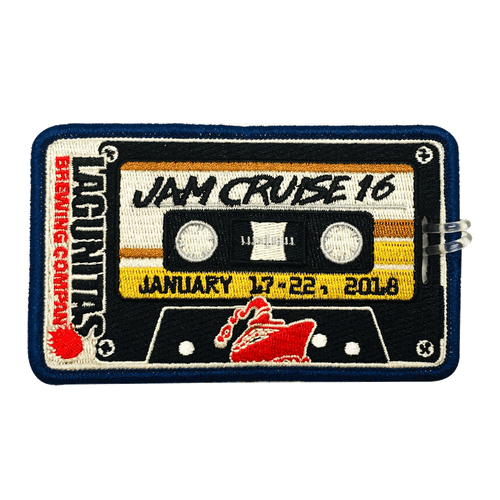 Jam Cruise 16 Luggage Tag (Includes Shipping)