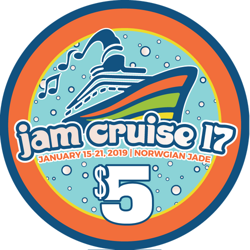 Jam Cruise 17 Casino Chip (Includes Shipping)