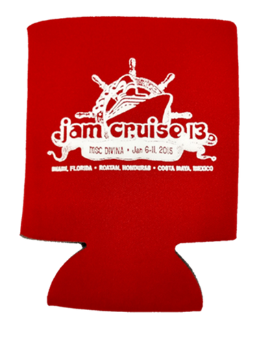 Jam Cruise 13 Coozie (Includes Shipping)