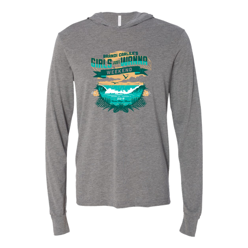 Girls Just Wanna Weekend Long Sleeve Wave Shirt
